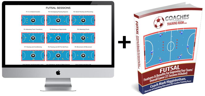 Ultimate Futsal Video Sessions Pack Essential Futsal