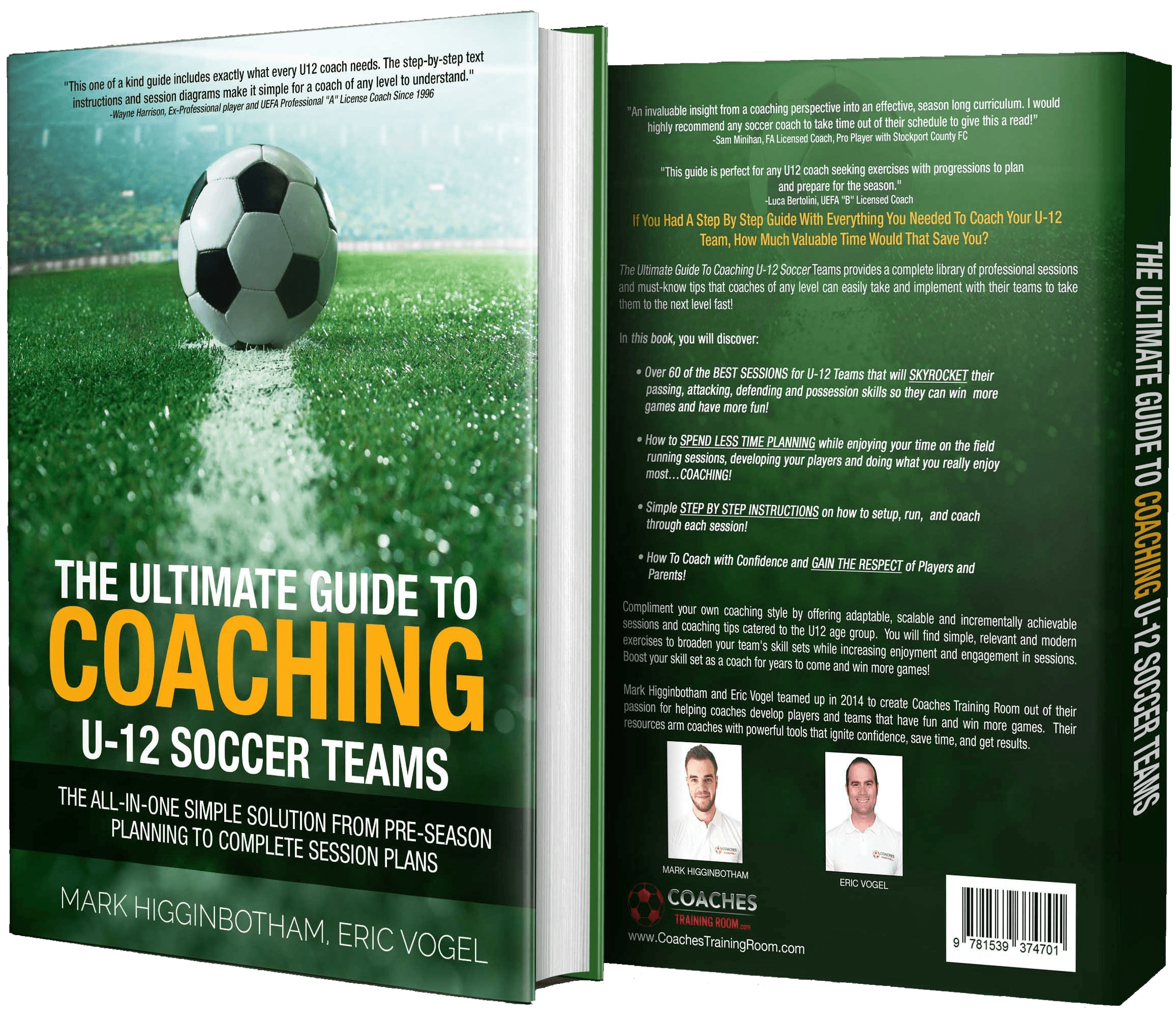 Coaches Training Room Session Packages and Soccer Coaching